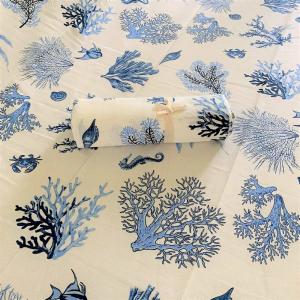 Telo Granfoulard copritutto  Coralli blu 260 x 280