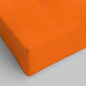 Lenzuolo da sotto con angoli arancione piazza e mezzo