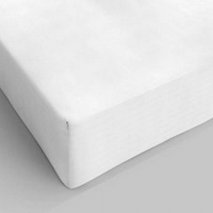 Lenzuolo da sotto con angoli bianco singolo