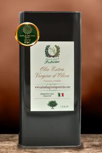 Olio Extravergine d'oliva estratto a freddo 100% Ita lt. 5