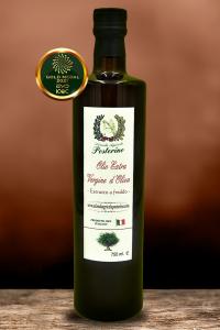 Olio Extravergine d'oliva estratto a freddo 100% Italiano 750ml