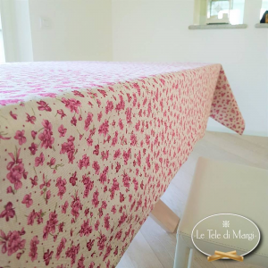 Tovaglia Violette rosa 140 x 300