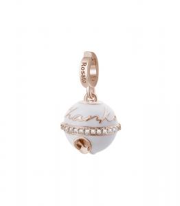 Charm Rosato in argento 925 con placcatura oro rosa RZ183