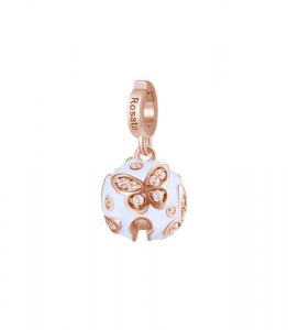 Charm Rosato in argento 925 con placcatura oro rosa Libertà RZ177