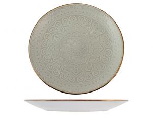 H&H piatto piano Arabesque stoneware cm27