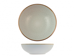 H&H piatto fondo arabesque stoneware 19cm