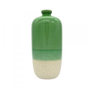 ABHIKA Edg vaso Huelo verde sfumato altezza 31cm