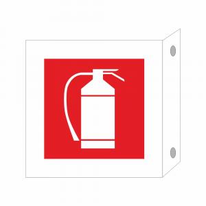Cartello in plexiglass Plexline Bifacciale Estintore