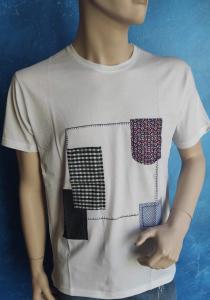 T-shirt bianca Andrea Des