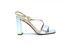 Sandalo elegante metallizzato