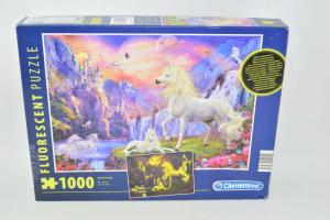 Puzzle Clementoni With Unicorni 1000 Pieces