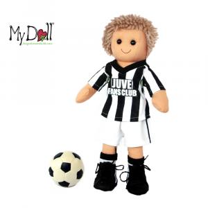 Bambolo Juve calciatore My Doll 42 cm
