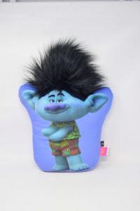 Plush Light Blue Trolls 40 Cm
