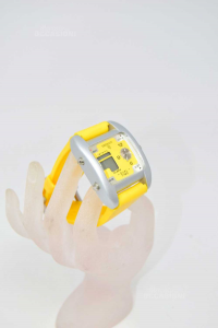 Watch Emerson Strap And Internal Yellow Dual Time