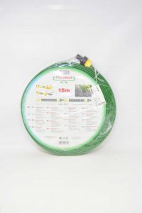 Tube Sprinkler New Florabest 15mt Green