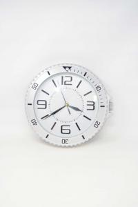 Wall Clock In Plastic Diameter 28 Cm