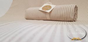 Telo Granfoulard copritutto Millerighe beige 160 x 280