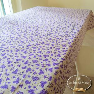 Tovaglia Violette lilla 140 x 360