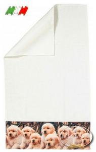 Asciugamani stampa digitale Labrador