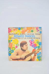 Vinyl 45 Turns Baby Girl Dagli Eyes Black Reato Rascel