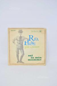 Vinyl 45 Turns Rita Peacock Gian Burrasca