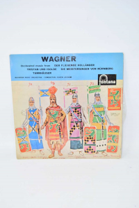 Vinyl 33 Turns Wagner Orchestral Music Form Der Fliegende