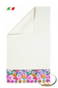 Asciugamani stampa digitale Flower Power