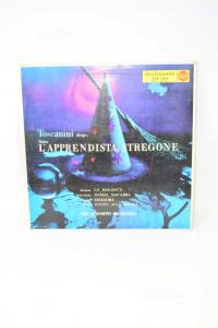 Vinyl 33 Turns Lapprendista Stregone Toscanini
