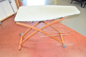 Ironing Board Foppapedretti (missing 1 Wheel,and Rest Iron)
