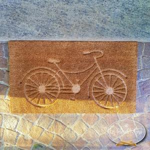Zerbino Bicicletta Intagliato
