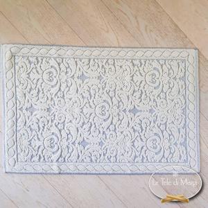 Tappeto arabesque grigio 60 x 90