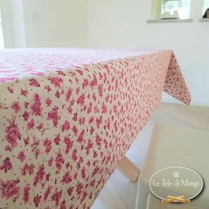 Tovaglia Violette rosa 140 x 360