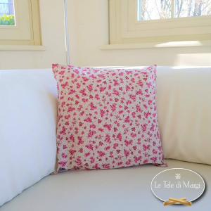 Fodera cuscino 40 x 40 violette rosa