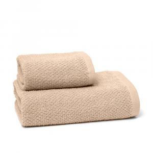 Asciugamano chicco di riso Nocciola