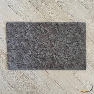 Tappeto rilievo grigio pietra