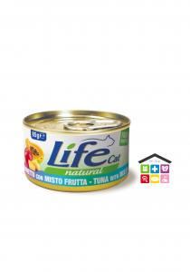 Life gatto Tonnetto con misto frutta 0,85g