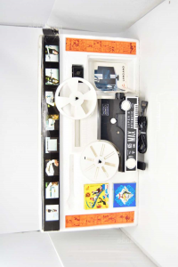 Game Vintage Video Projector Cine Butxautomatic 8 + Super 8 Zoom Working +