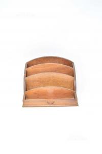 Holder Letters Wood Multi Tasca 17x23 Cm