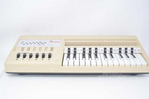 Pianola Vintage Bontempi Beige Mod.b
