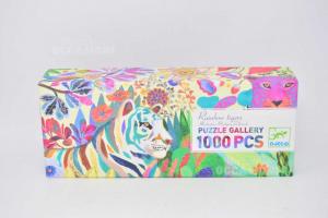 Puzzle Rainbow Tigers Djeco 1000 Pieces The