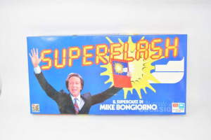 Table Game Vintage Superflash The Superquiz Of Mike Buongiorno Complete