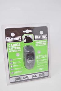 Mammuth Carica Batterie Automatico Per Batteria 12v De1210wr-mbike Nuovo