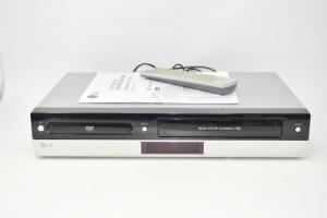 Lettore Dvd / Videoregistratore Lg Mod. V190 Con Telecomando E Istruzioni