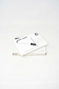 Post Card Memo Ceramic With Pennarello,riscrivibile