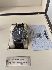 Orologio secondo polso Longines Legend Diver Watch