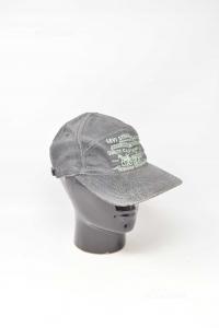 Cappello Uomo Levi's Nero In Vera Pelle Vintage