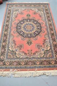 Carpet Pink In Wool 123x185 Cm
