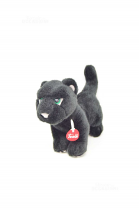 Plush Panther Black Trudi 27x20 Cm