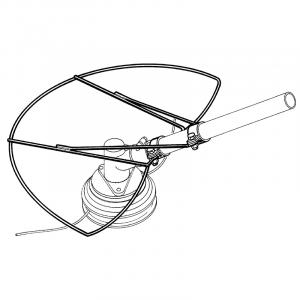 Salvacorteccia R302856 SABARTuniversale per testine filo o lame decespugliatore