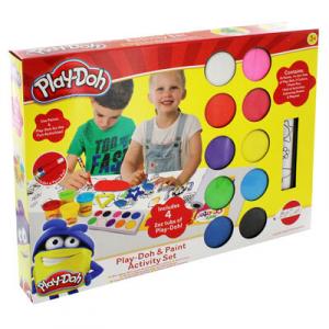 HASBRO - PLAY-DOH & Paint Activity Set